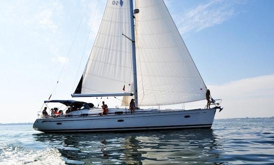Charter 50' Bavaria Cruising Monohull In Roma, Lazio