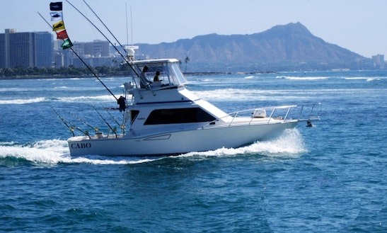 Honolulu, Hawaii Fishing Charter With Captain Don