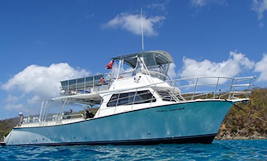 Charter 32' Passenger Boat In Ceiba, Puerto Rico
