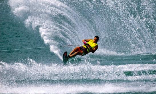 Enjoy Water Skiing In Denpasar, Bali