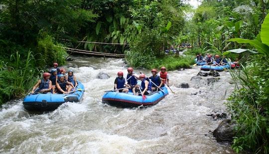 Enjoy Rafting Trips On Telaga Waja River In Denpasar, Bali
