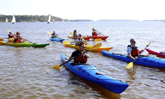 Enjoy Kayak Tours In Helsinki, Finland