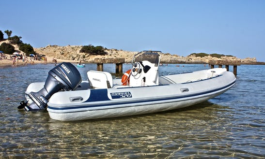 Rent A 17' Rigid Inflatable Boat In Sardegna, Italy