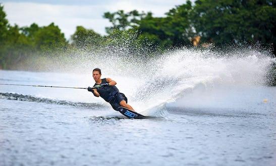 Enjoy Water Skiing In Sardegna, Italy