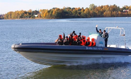 Charter A 36' Rigid Inflatable Boat In Helsinki, Finland