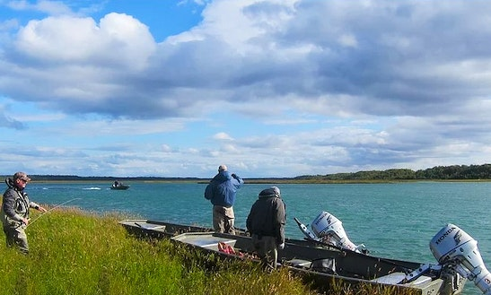 Fishing Trips At The Sof Lodge On The Kvichak River, Alaska