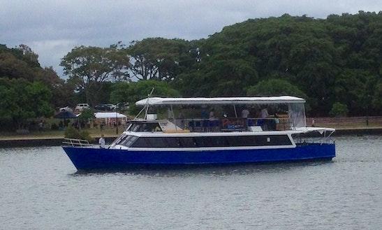 Enjoy Brisbane River In Bald Hills, Queensland On 75' Passenger Boat