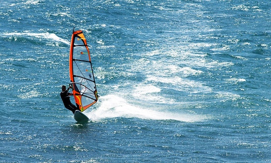 Enjoy Windsurfing Courses And Rental In Ribeira, La Coruña