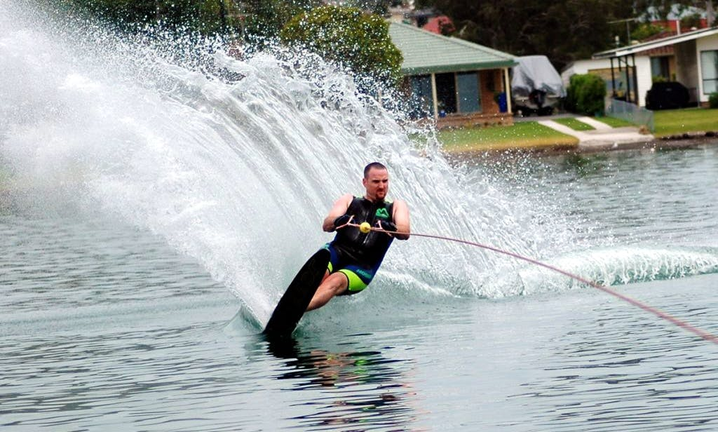 Water Skiing Lessons in Marbella, Spain
