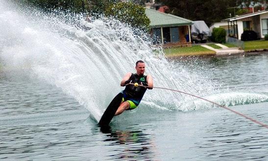 Enjoy Water Skiing Lessons In Marbella, Spain