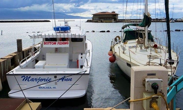 """Fishing Charter On 36ft """"Marjorie Ann"""" Boat In Makawao, Hawaii"""