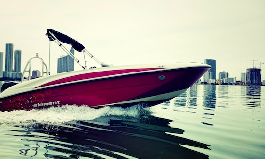 New Bowrider Excelent For Miami Bay Ride!