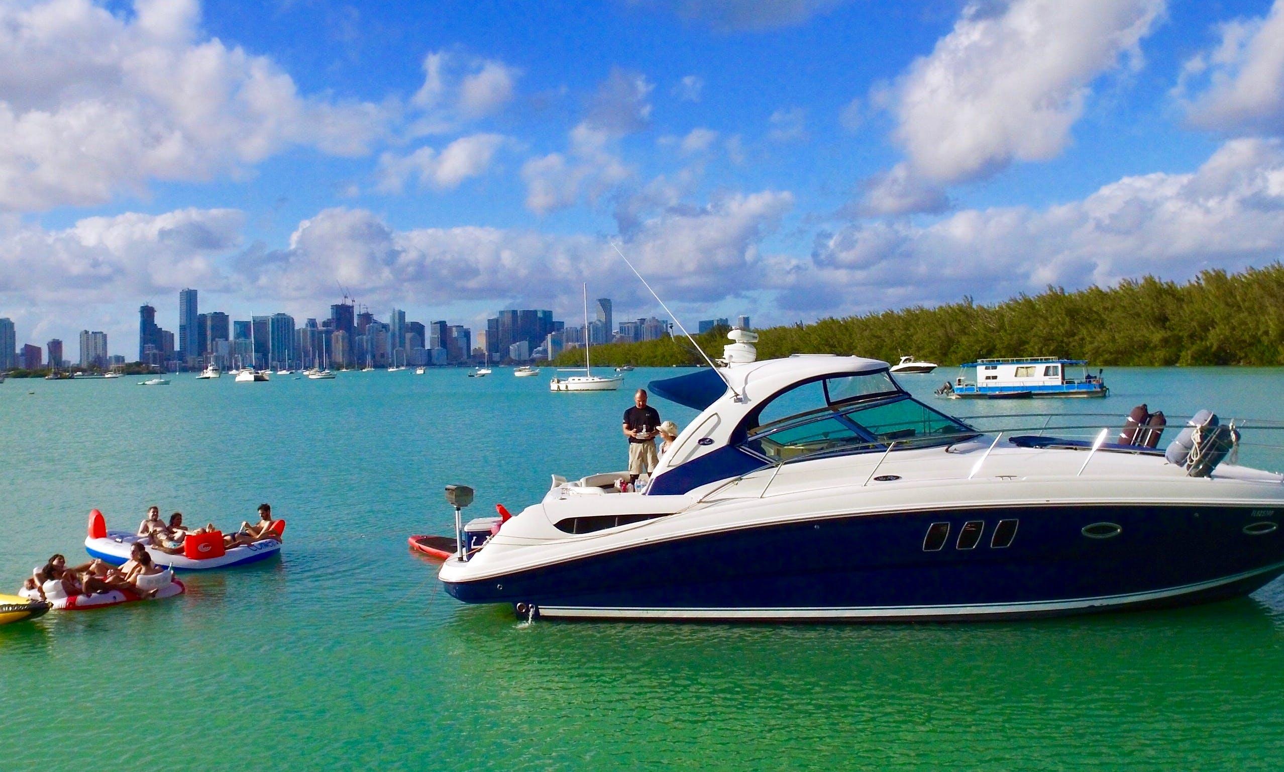 Luxury Yacht Charters - 38' SEA RAY - Miami, Florida Keys & Bahamas!