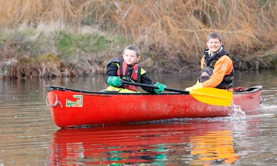 Enjoy Canoe Lessons In Leicester, England