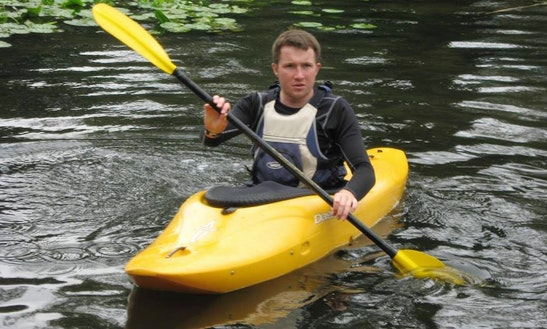 Enjoy Kayak Lessons In Leicester, England