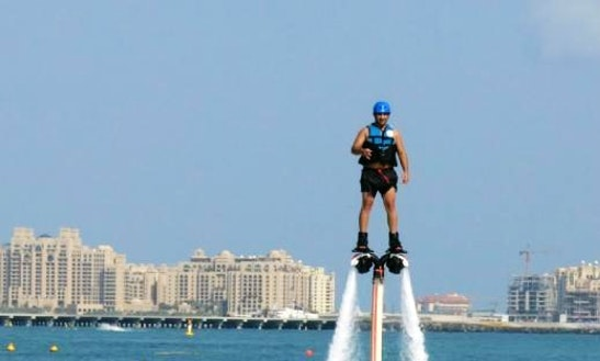 Exciting Flyboarding Ride In Dubai, Uae