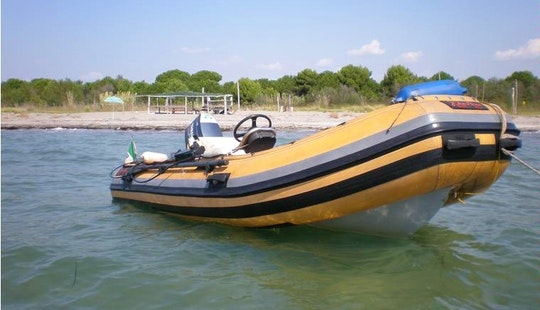 Rent 16' Rigid Inflatable Boat In Villanova, Italy