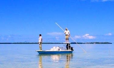Bass Boat Fishing Trips In Long Island, The Bahamas