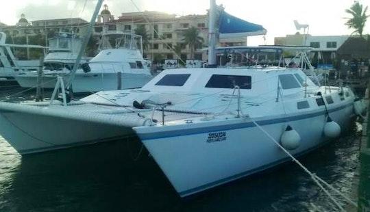 Cruising Catamaran For Rent In Cancún