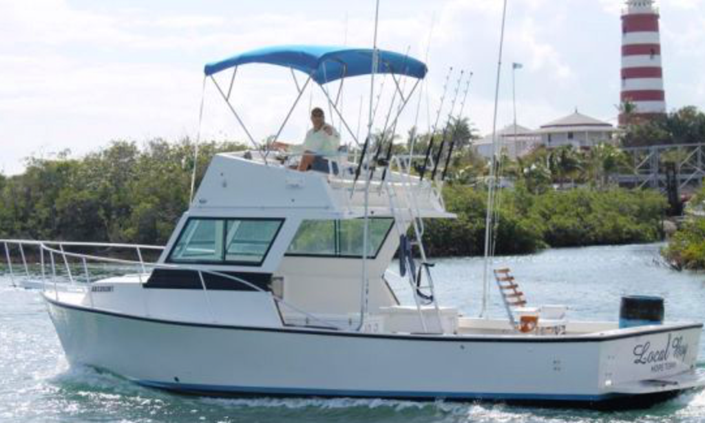 Deep sea fishing charter in hope town bahamas getmyboat for Nassau fishing charters