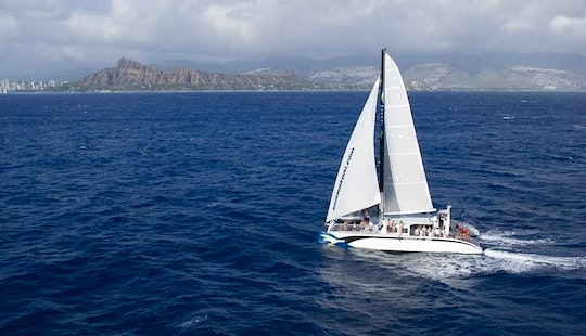 Enjoy 65 Ft Luxury Catamaran Charter In Honolulu, Hawaii