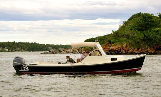 Rent 27' Foggcraft Center Console In Portland, Maine