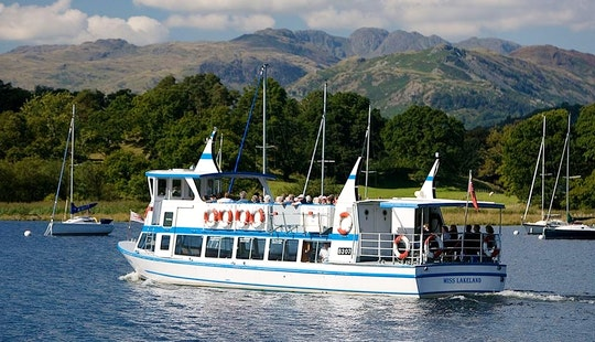 Charter 67' Canal Boat In Bowness-on-windermere, England