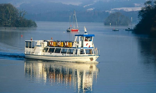 Charter 67' Miss Lakeland Ii Canal Boat In Bowness-on-windermere, England