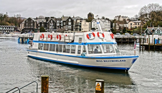 Charter 60' Canal Boat In Bowness-on-windermere, England