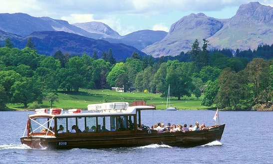 Charter 50' Canal Boat In Bowness-on-windermere, England