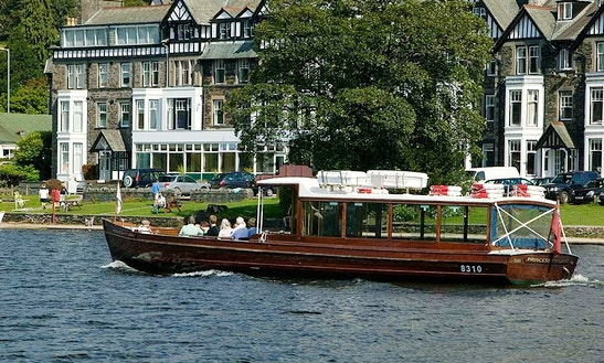 Charter 50' Princess Of The Lake Canal Boat In Bowness-on-windermere, England