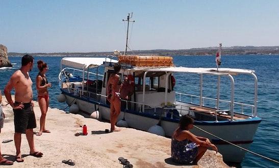 Enjoy Island Of Gozo, Malta On Passenger Boat