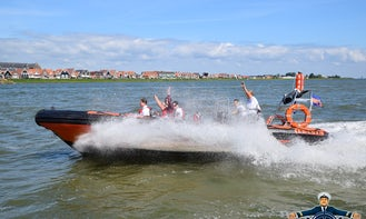 Charter a Rigid Inflatable Boat in Volendam, Noord-Holland
