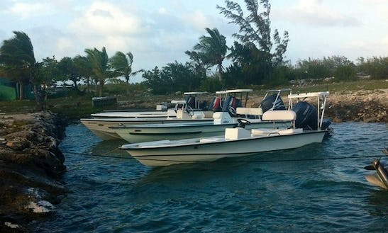 Enjoy Fishing In Behring Point Settlement, Bahamas With Captain Rupert