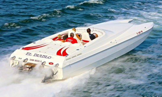 Power Catamaran Rental In Sunny Isles Beach