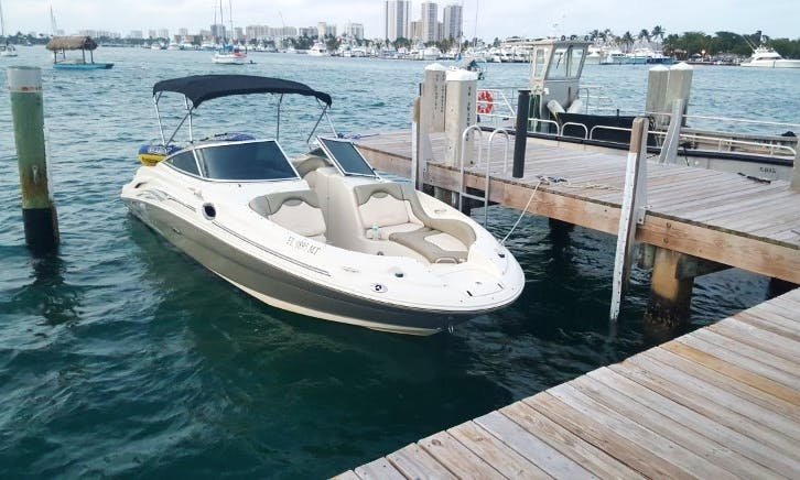 27ft Cuddy Cabin/Walk Around Boat Sunset Cruise Charter In West Palm Beach, Florida