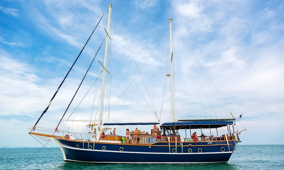 Charter this Gulet 8 for Up to 48 People in Phuket, Thailand