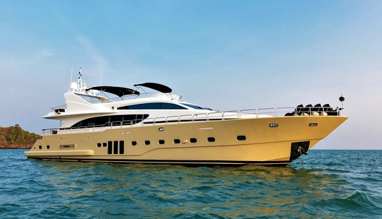 My Bilgin 96 Charter For Up To 25 People In Phuket, Thailand