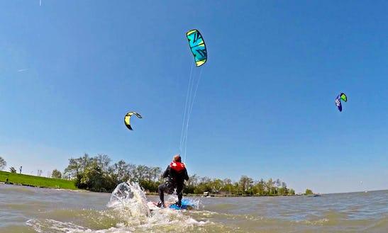 Enjoy Kiteboarding Lessons & Rental In Velsen-noord, Noord-holland