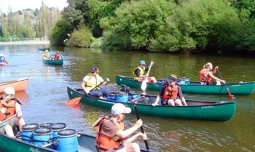 Enjoy Canoe Tours on Whanganui River in Hikumutu, Manawatu-Wanganui