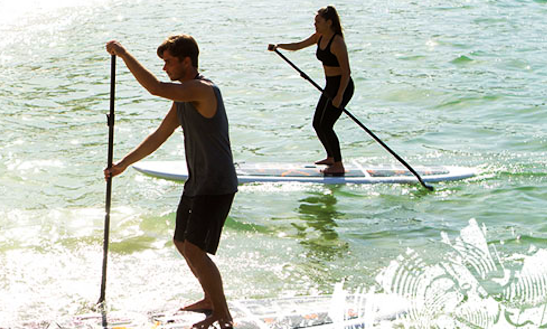 Enjoy Stand Up Paddleboarding In Kelowna, British Columbia