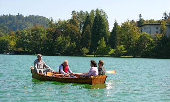 Rent A Dinghy In Bled, Slovenia