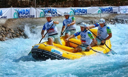 Enjoy Rafting Trips On River Sava In Litija, Slovenia