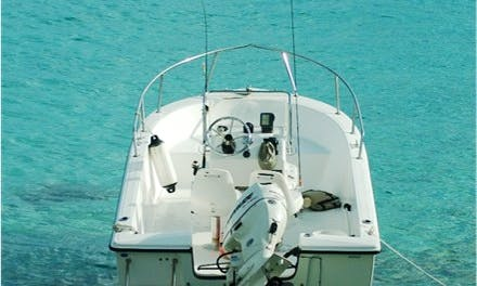 Enjoy Fishing in Cruz Bay, St. John on Center Console