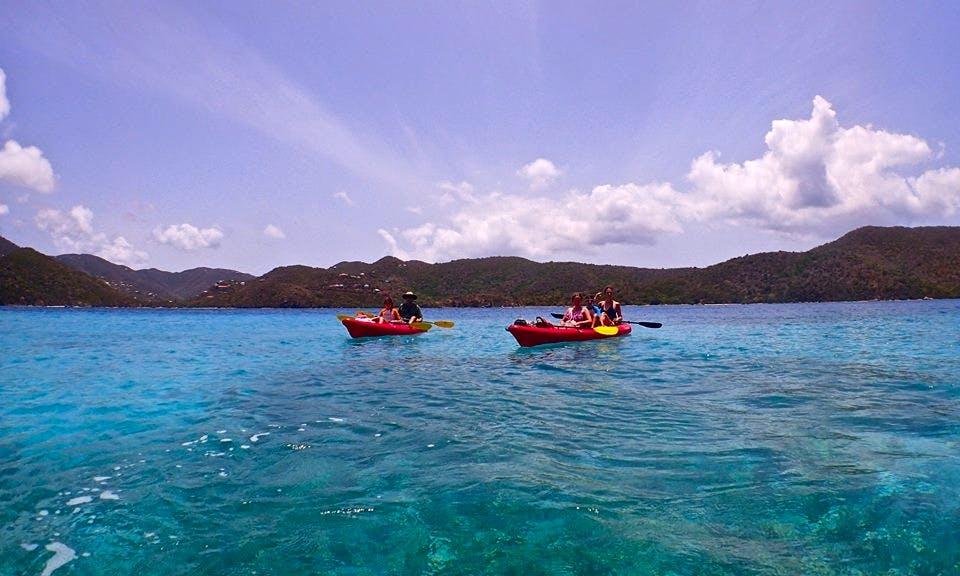 Guided Kayak Tour and Tandem Kayak Rental in Cruz Bay, St. John