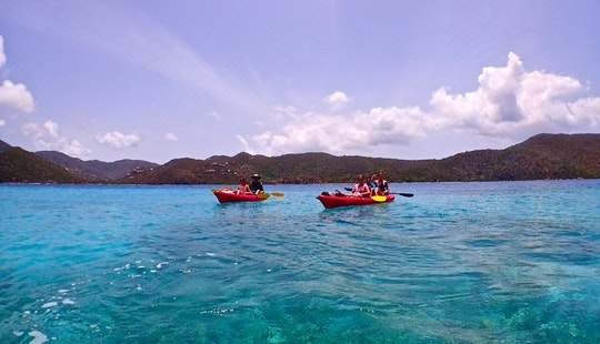Guided Kayak Tour And Tandem Kayak Rental In Cruz Bay, St. John
