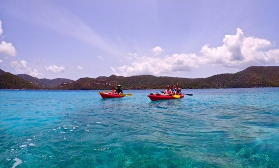 Enjoy Tandem Kayak Rentals & Tours In Cruz Bay, St. John