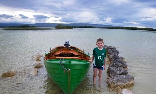 Enjoy Fishing In Glencorrib, Ireland On Dinghy