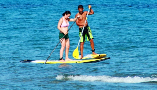 Enjoy Stand Up Paddleboard Lessons & Rental In Mazotos, Cyprus