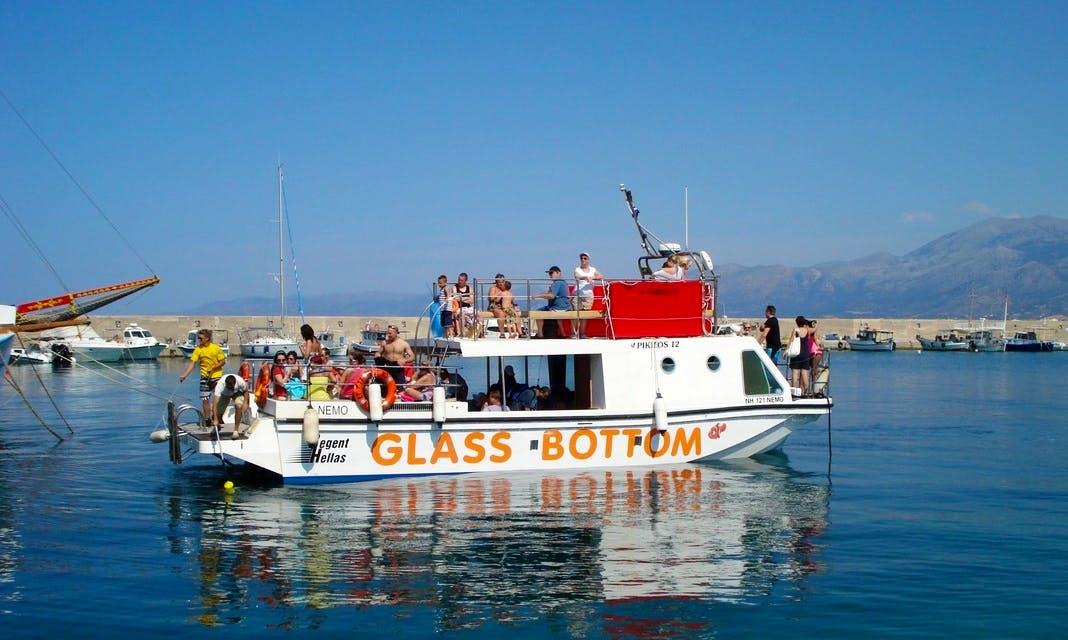 Enjoy Hersonissos, Crete on 46' Passenger Boat